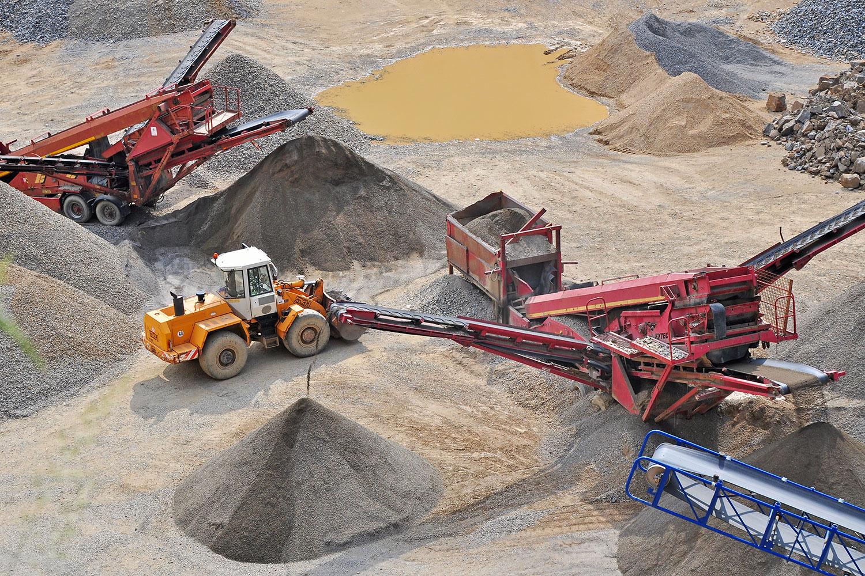 Mining Amp Quarries Neumayer Equipment Company